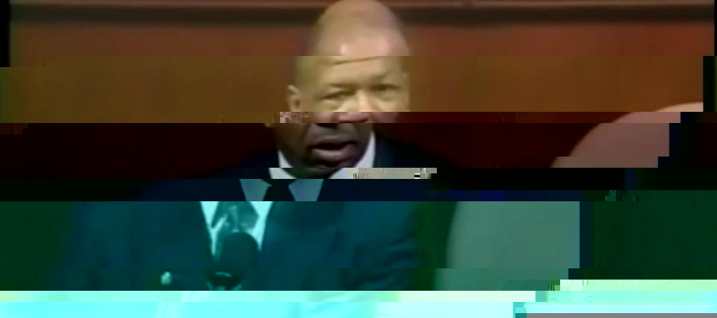 Remembering Elijah Cummings' First Speech