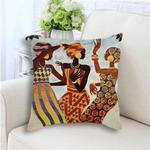 African Dancers I Pillow